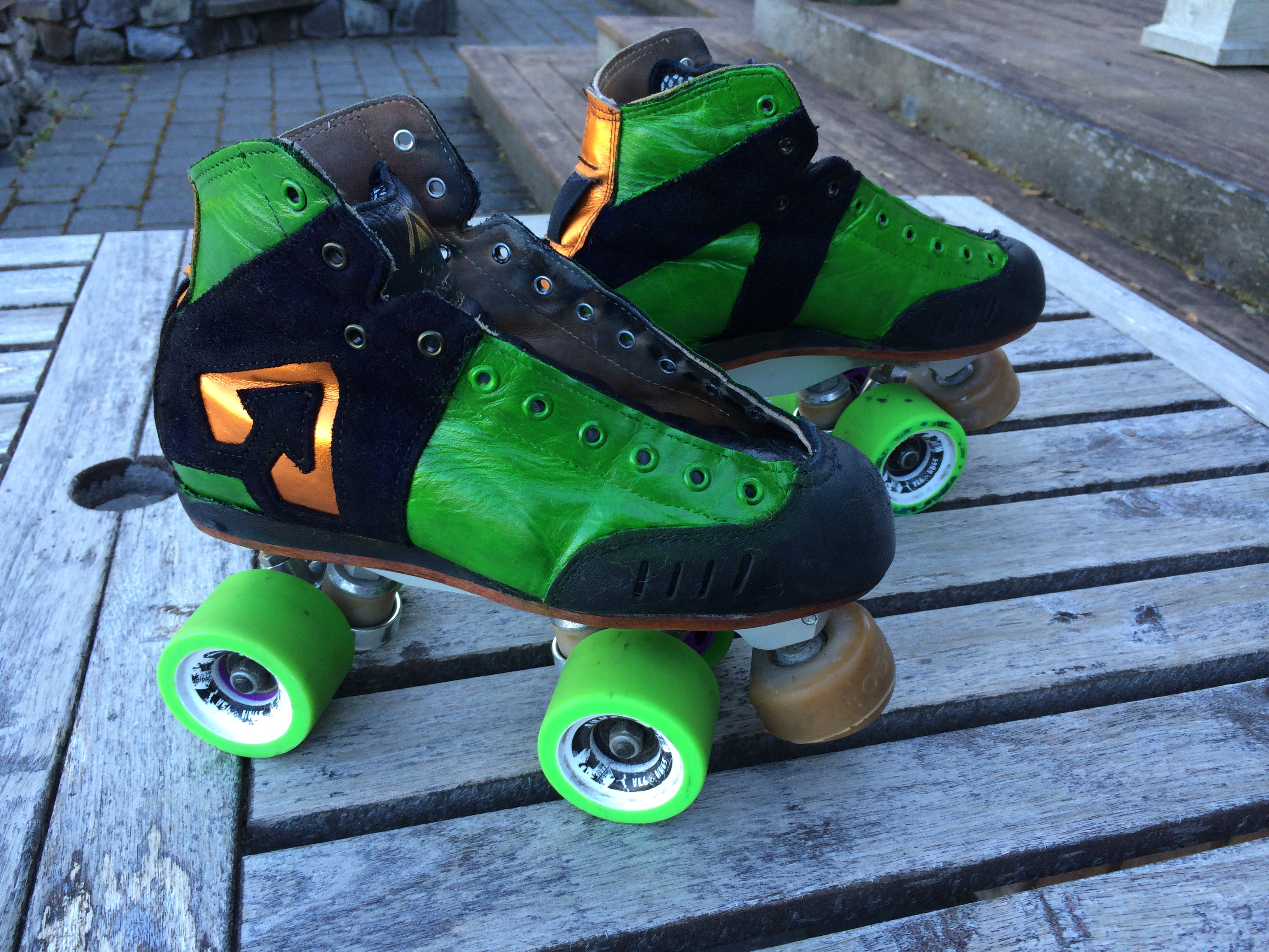 Derby Skates Makeover   Syne Mitchell