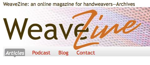 WeaveZine Logo